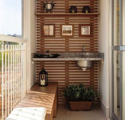 мойка на балконе