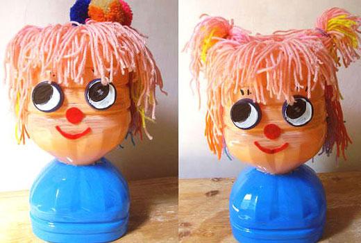 куколка из бутылки