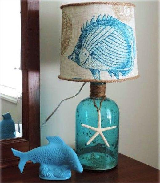 морская лампа