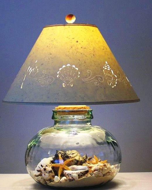 лампа море