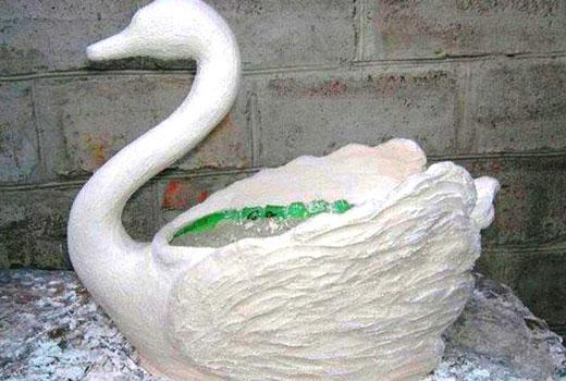 лебедь заготовка