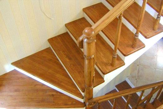 накладки деревянные на ступени