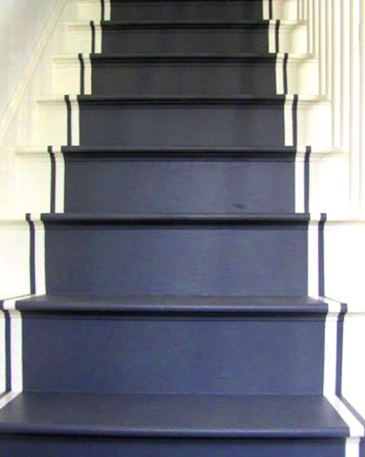 лестница серая краска