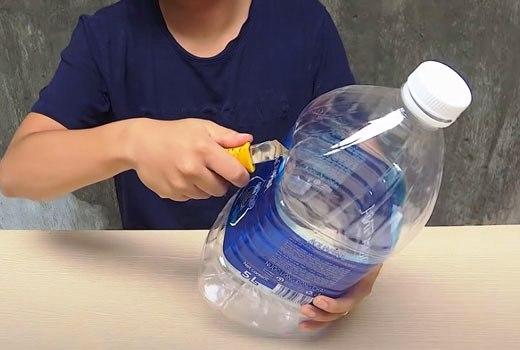 Пластиковый бутль для поделок
