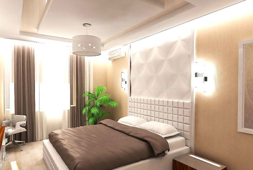 Маленькая спальня обстановка