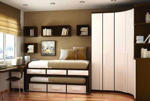 Компактная мебель для маленькой комнаты