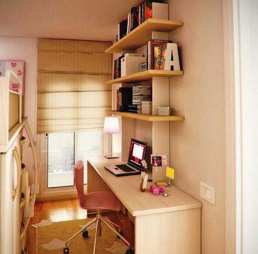 узкая маленькая комната