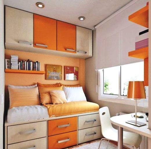 меблировка небольшой комнаты