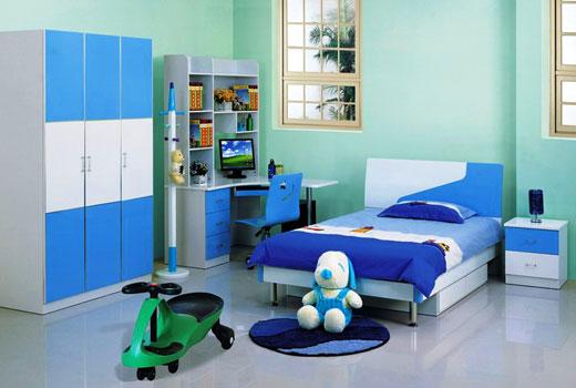 Комната мальчика в современном стиле