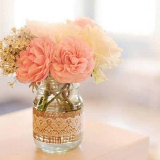 маленькая вазочка для цветов