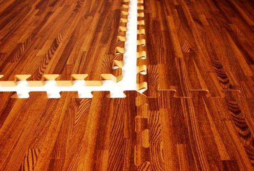 модульный пол из полимера