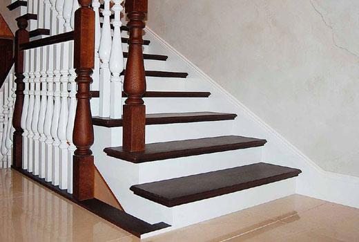 контраст цветов лестница