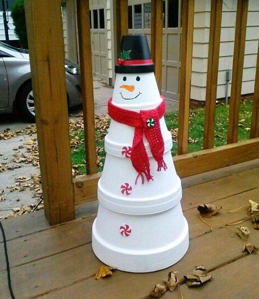 новый снеговик