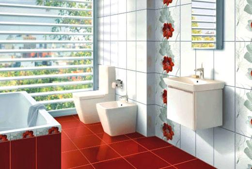 обновление плитки в ванной комнате