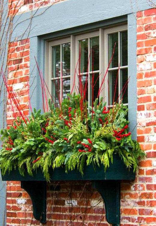 наружное украшение окна