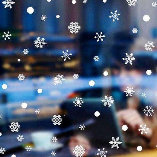 стикер снежинки