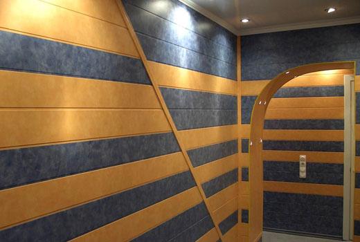 пластиковые панели в коридоре