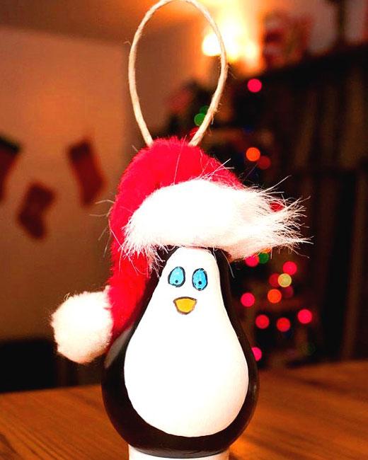 пингвин Санта