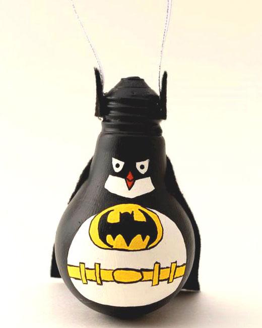пингвин супермен на елку