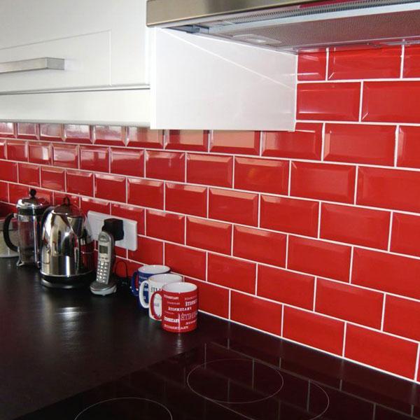 керамическая облицовка на кухне