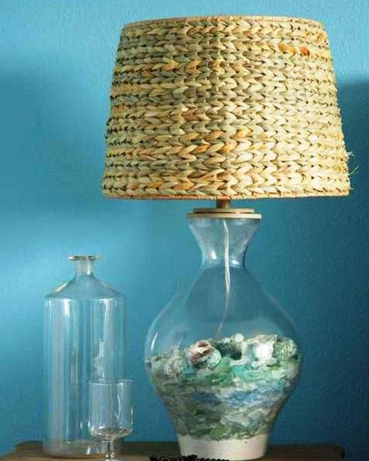 кантри лампа
