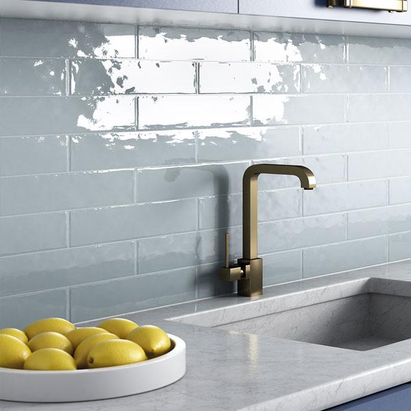 облицовка стены на кухне