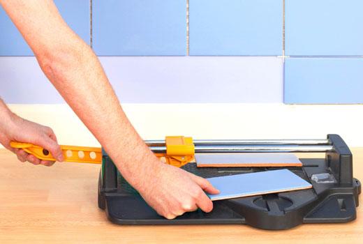 подрезать плитку