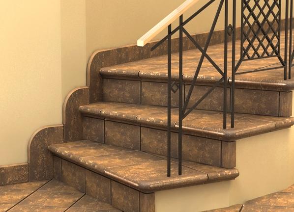 плитка керамика для лестницы