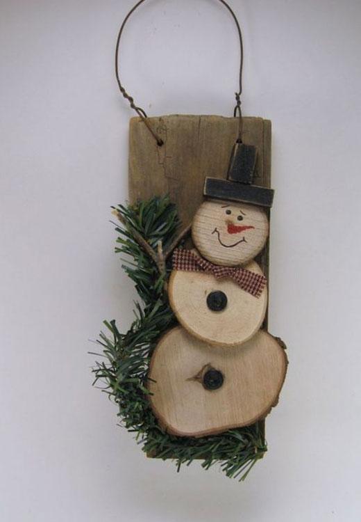 подвесные снеговики