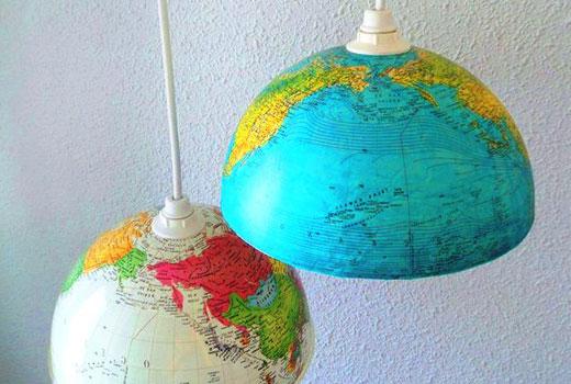 полушары светильники