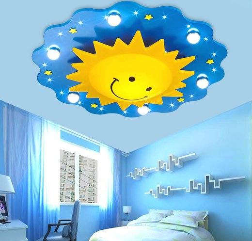 светильник солнышко в детской