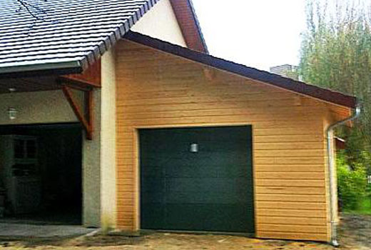 пристройка гараж