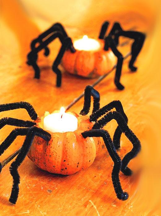 Хэллоуин тыква-паук