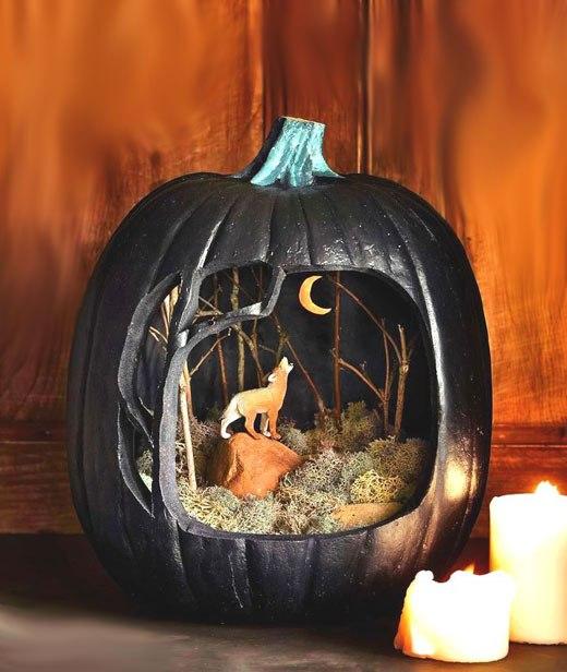 Хэллоуин тыква домик