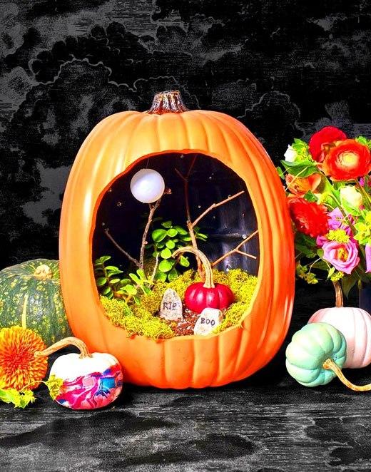 Хэллоуин тыква декор