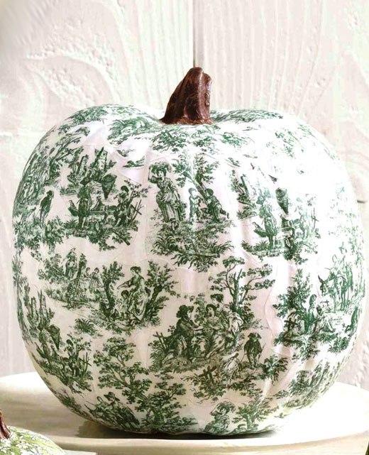 Декор Хэллоуин декупаж тыквы