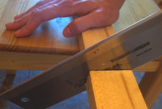 разрезать рейки