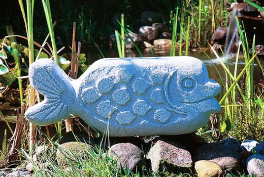рыба из газобетона