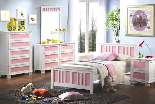 романтическая комната девочки