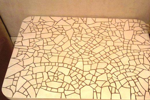 самодельная мозаика
