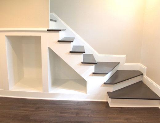 лестничная конструкция декор