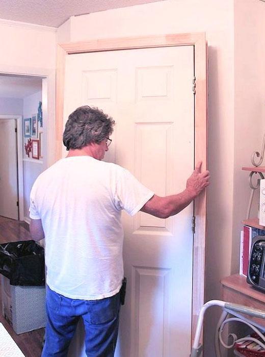дверь шкафа