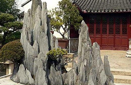 скалы из цемента