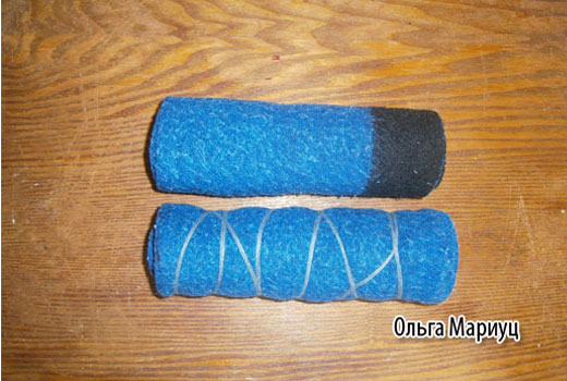 скрутки из ткани