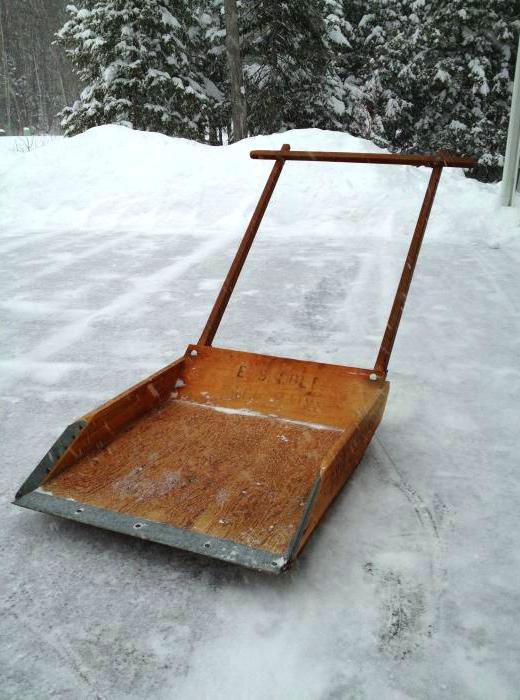 снегоуборщик-лопата