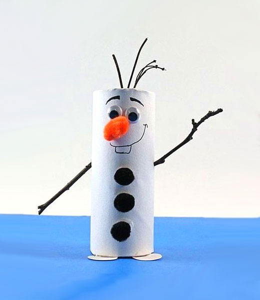 супер снеговик