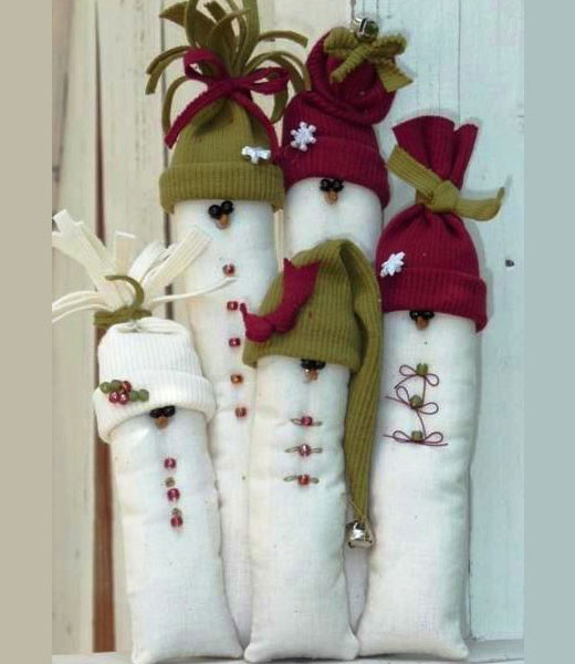 мешки снеговики