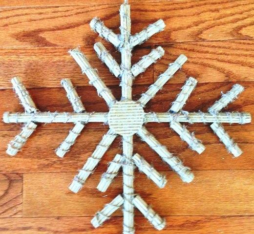 снежинка шпагат