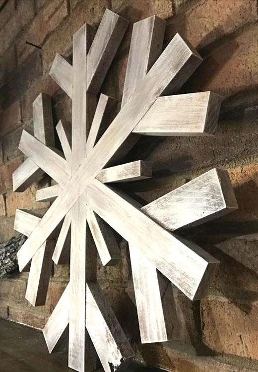 снежинка из реек