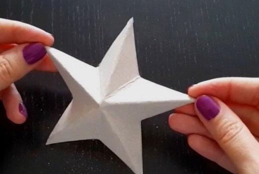 согнуть заготовку звезды